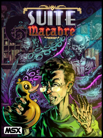 Suite Macabre MSX Box Art