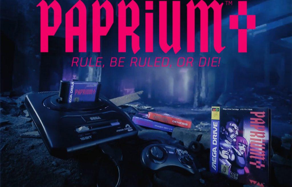 Paprium Title